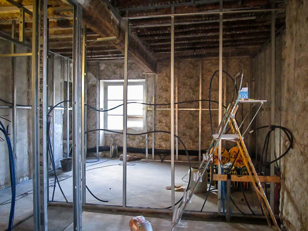 Aménagement d'une ancienne bâtisse