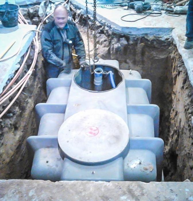 Micro-station de traitement des eaux usées